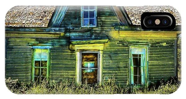 Deer Isle Haunted House IPhone Case