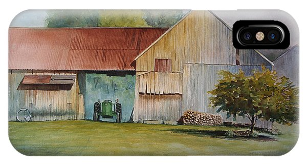 Deere On The Farm IPhone Case