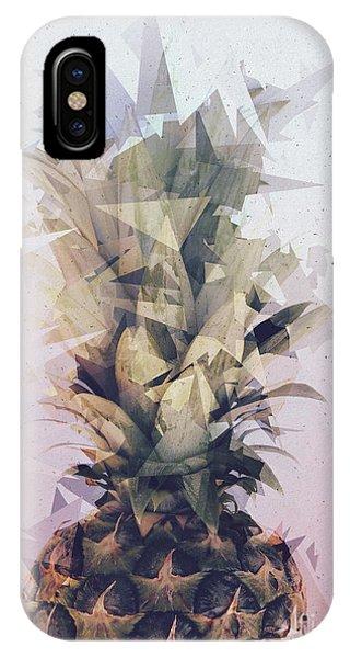 Defragmented Pineapple IPhone Case