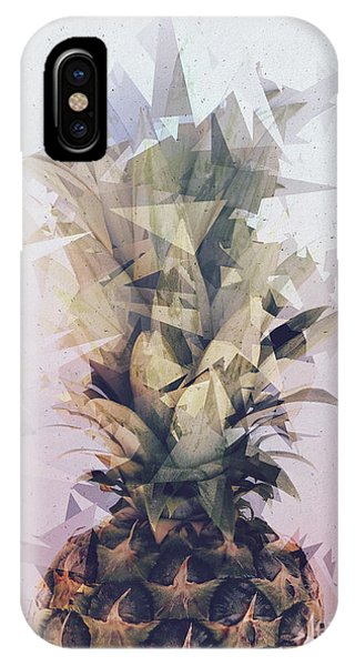 Defragmented Pineapple IPhone Case