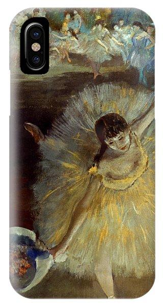 1877 iPhone Case - Degas: Arabesque, 1876-77 by Granger