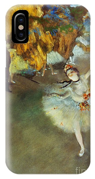 iPhone Case - Degas Star, 1876-77. To License For Professional Use Visit Granger.com by Granger