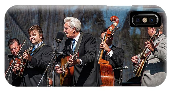 iPhone Case - Del Mccoury Band by Bill Gallagher