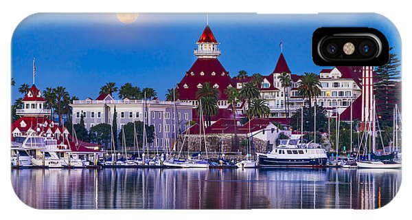 Del Moonset IPhone Case