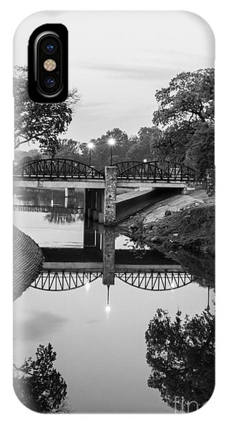 Centennial Bridge iPhone Case - Delaware Creek At Dawn by Imagery by Charly