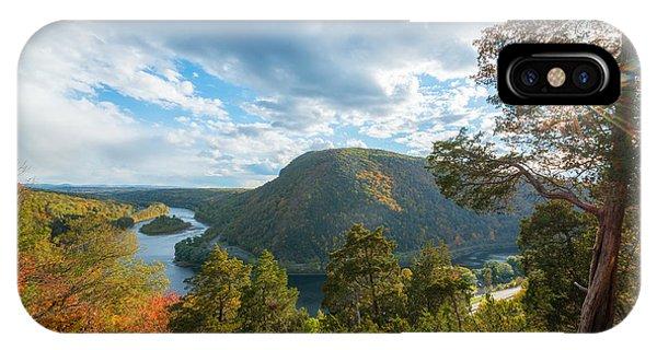 Delaware Water Gap In Autumn IPhone Case