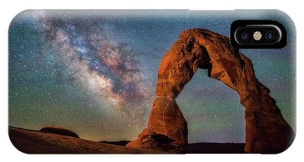 Arches National Park iPhone Case - Delicate Air Glow by Darren White