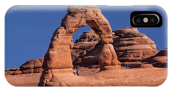 Delicate Arch - 8574 IPhone Case