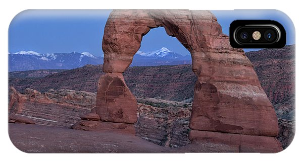 Delicate Arch At Twilight IPhone Case