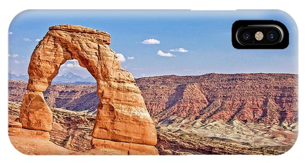 Arches National Park iPhone Case - Delicate Arch by Delphimages Photo Creations