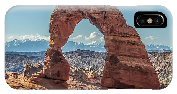 Delicate Arch In Early Morning IPhone Case
