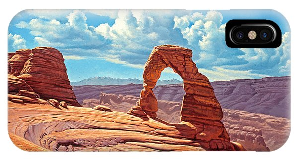 Arched iPhone Case - Delicate Arch by Paul Krapf