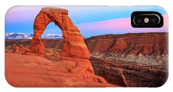 Delicate Arch Sunset IPhone Case