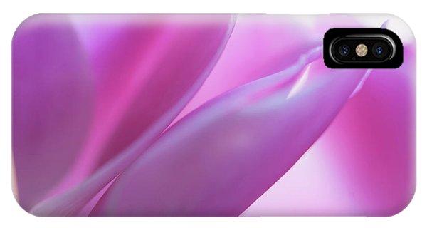 Buy Art Online iPhone Case - Delicate Beauty Of Cyclamen Flower by Jenny Rainbow