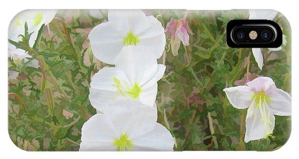 Delicate Desert Bloom - Death Valley IPhone Case