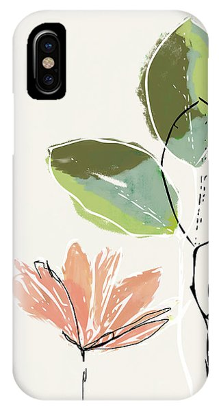Delicate Flower- Art By Linda Woods IPhone Case