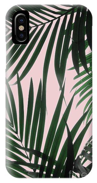 Delicate Jungle Theme IPhone Case