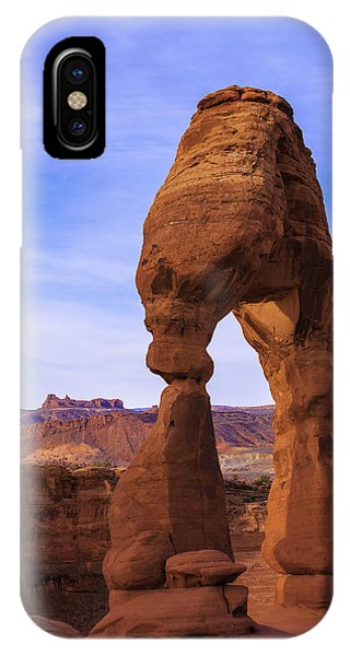 Arches National Park iPhone Case - Delicate Landmark by Chad Dutson