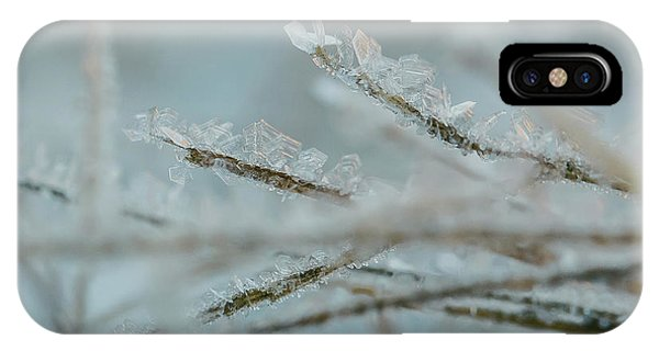 Delicate Morning Frost  IPhone Case