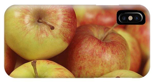 Delicious Apple Fruit Background IPhone Case