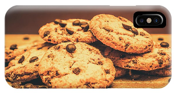 Closeup iPhone Case - Delicious Sweet Baked Biscuits  by Jorgo Photography - Wall Art Gallery