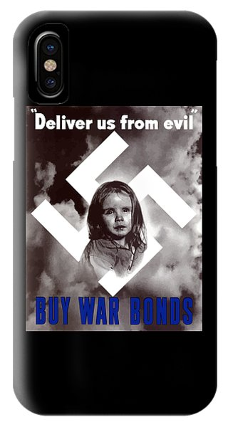 World War Two iPhone Case - Deliver Us From Evil by War Is Hell Store