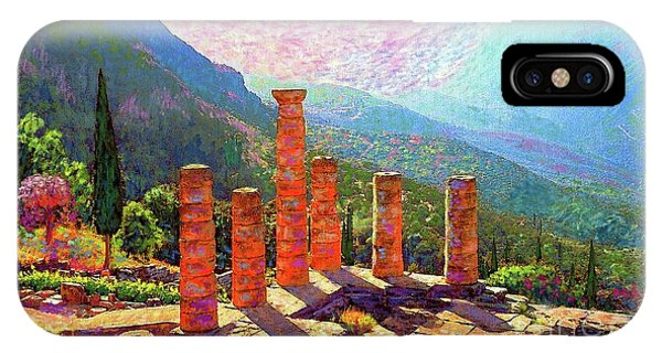 Delphi Magic IPhone Case