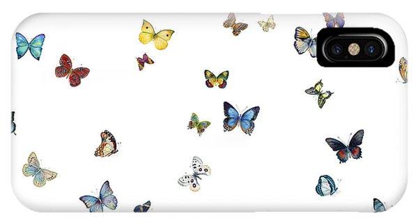 Butterfly iPhone Case - Delphine by Amy Kirkpatrick