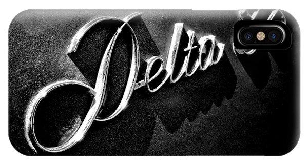 Delta iPhone Case - Delta 88 Badge by Olivier Le Queinec