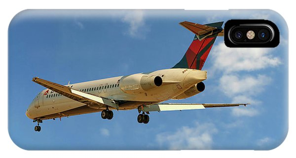 Delta iPhone Case - Delta Airlines Boeing 717-200 by Smart Aviation