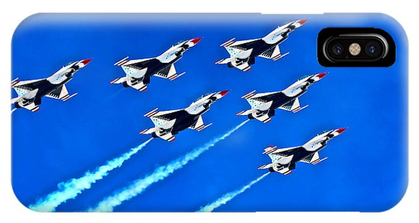 Delta Formation IPhone Case