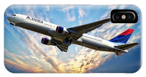 Delta Passenger Plane IPhone Case