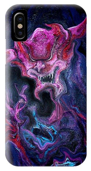 Demon Fire IPhone Case