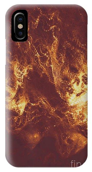 Flammable iPhone Case - Demon Hellish Nightmare by Jorgo Photography - Wall Art Gallery