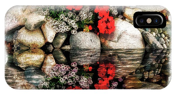 Denali National Park Flowers IPhone Case
