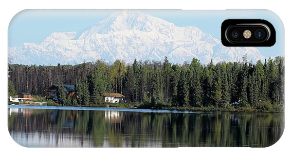 Denali From Kashwitna Lake IPhone Case