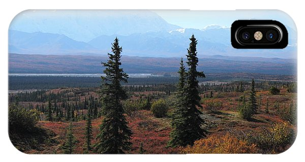 Denali From Near Wonder Lake IPhone Case