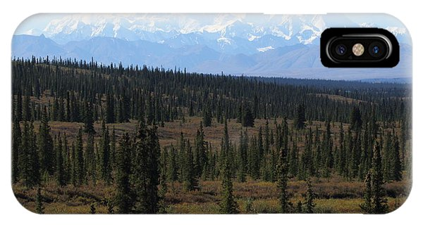 Denali From The Denali Highway IPhone Case