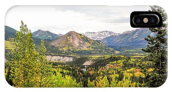 Denali National Park Landscape No 2 IPhone Case