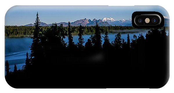 Denali Over The Susitna River IPhone Case