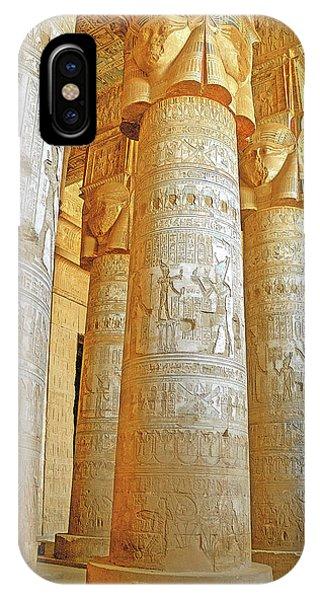 Dendera Temple IPhone Case