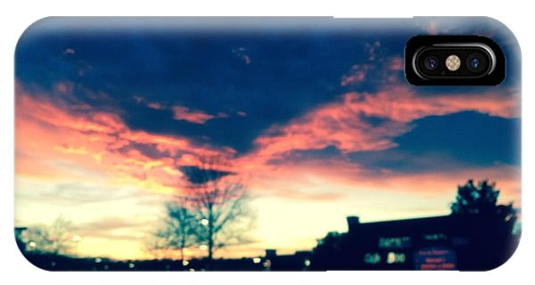 Dense Sunset IPhone Case