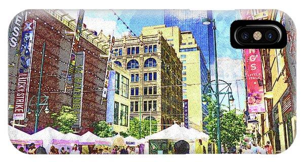 Denver Art Walk IPhone Case