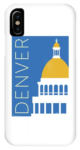 Denver Capitol/blue IPhone Case