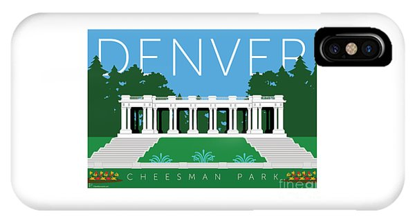 Denver Cheesman Park IPhone Case