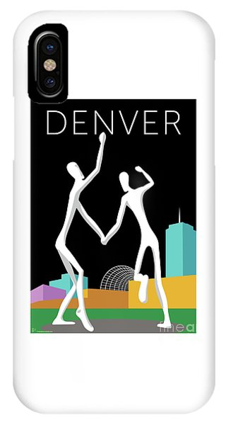 Denver Dancers/black IPhone Case