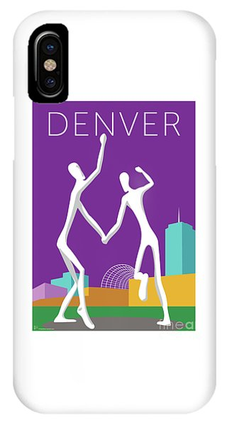 Denver Dancers/purple IPhone Case
