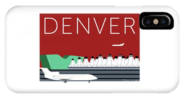 Denver Dia/maroon IPhone Case