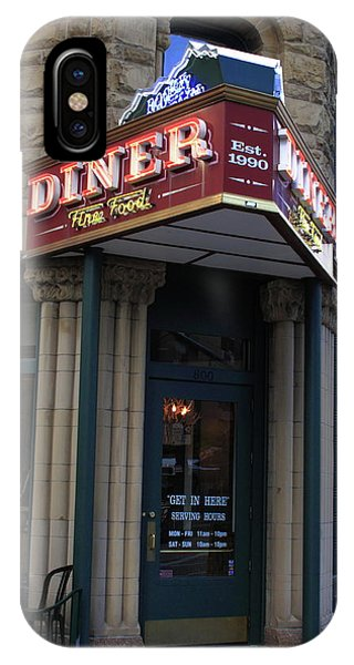 Corvair iPhone Case - Denver Diner by Frank Romeo