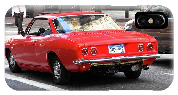 Corvair iPhone Case - Denver Hot Rod by Frank Romeo